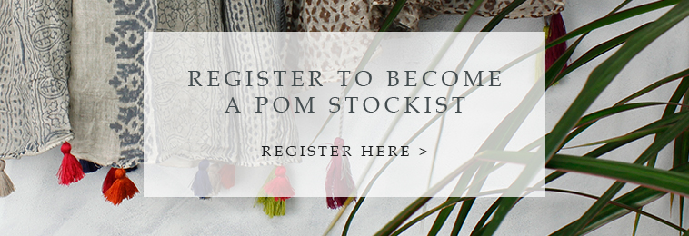 become a POM stockist