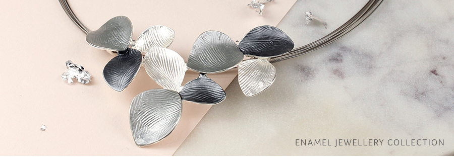 Wholesale enamel silver plated jewellery from POM