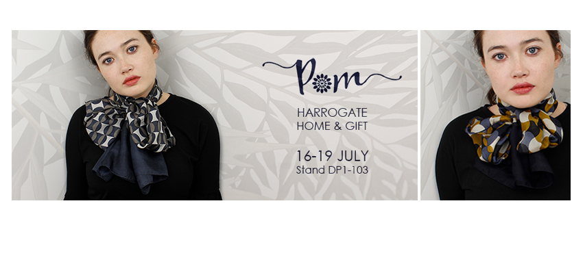 Visit POM at Harrogate Home & Gift Show