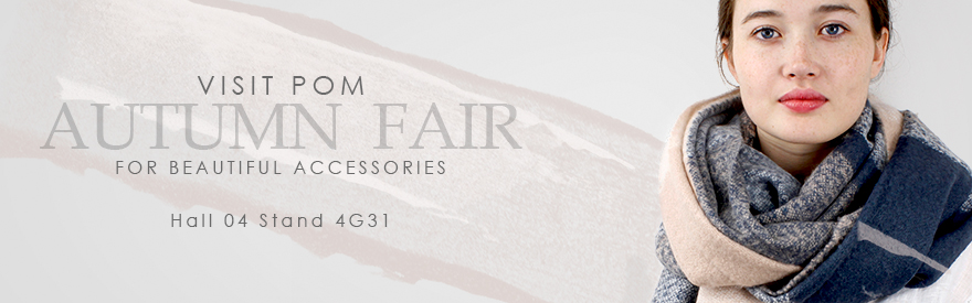 See POM wholesale jewellery at Autumn Fair