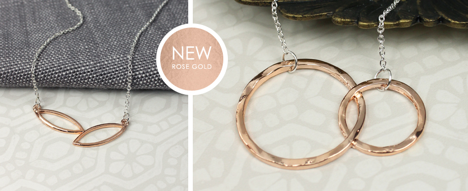 Rose Gold Wholesale Jewellery from POM