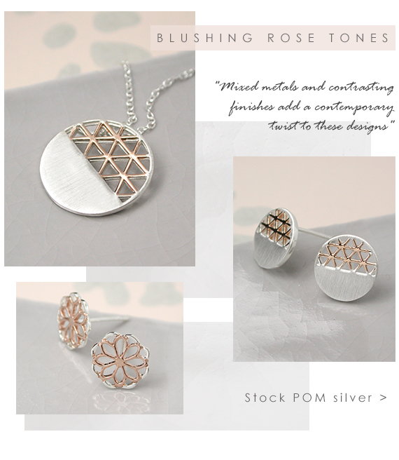 POM wholesale rose gold jewellery