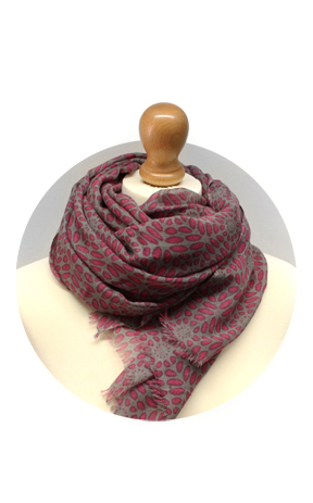Wool Print Wholesale Scarves