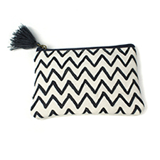 Canvas embroidered wholesale purse