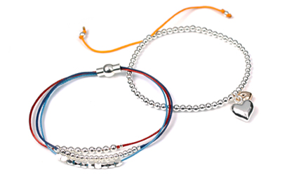Myeloma UK and Teenage Cancer Trust Bracelets