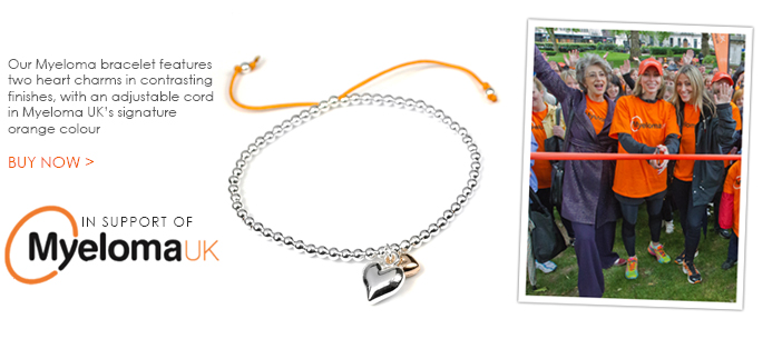 Myeloma UK charity bracelet