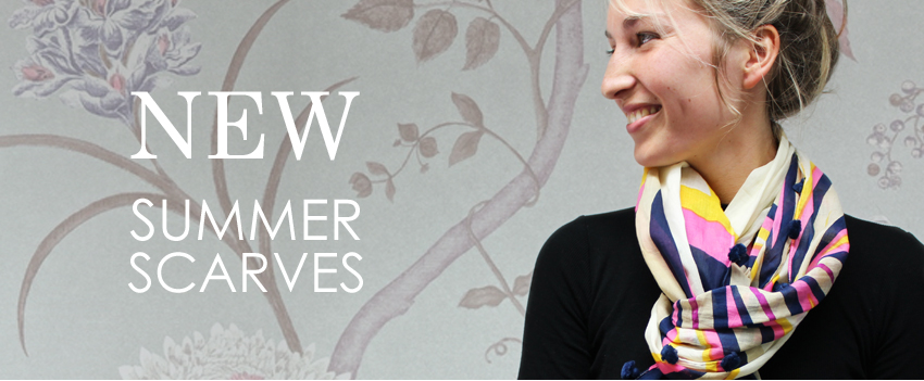 Summer wholesale scarves from POM