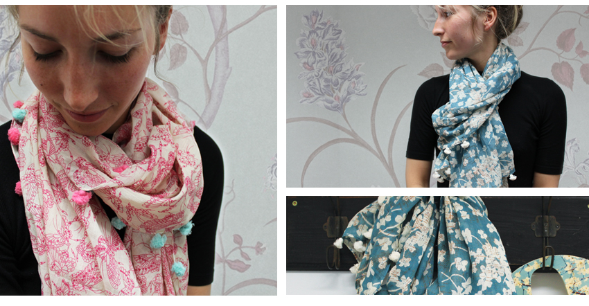 NEW wholesale summer scarves from POM