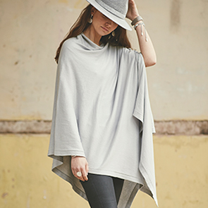 POM wholesale cotton poncho