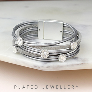 POM wholesale jewellery and silver plated bracelets