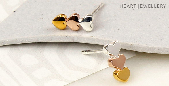 Wholesale silver heart jewellery
