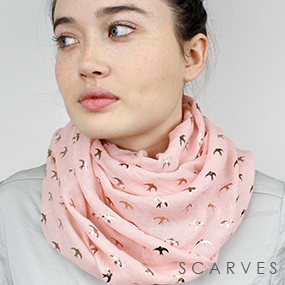 Wholesale printed scarves from POM scarf wholesaler